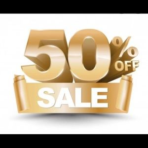 Bundle any 2 or more items & get 50% off